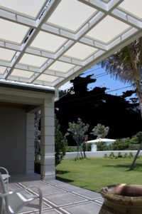 Consider a shade trellis for your business.