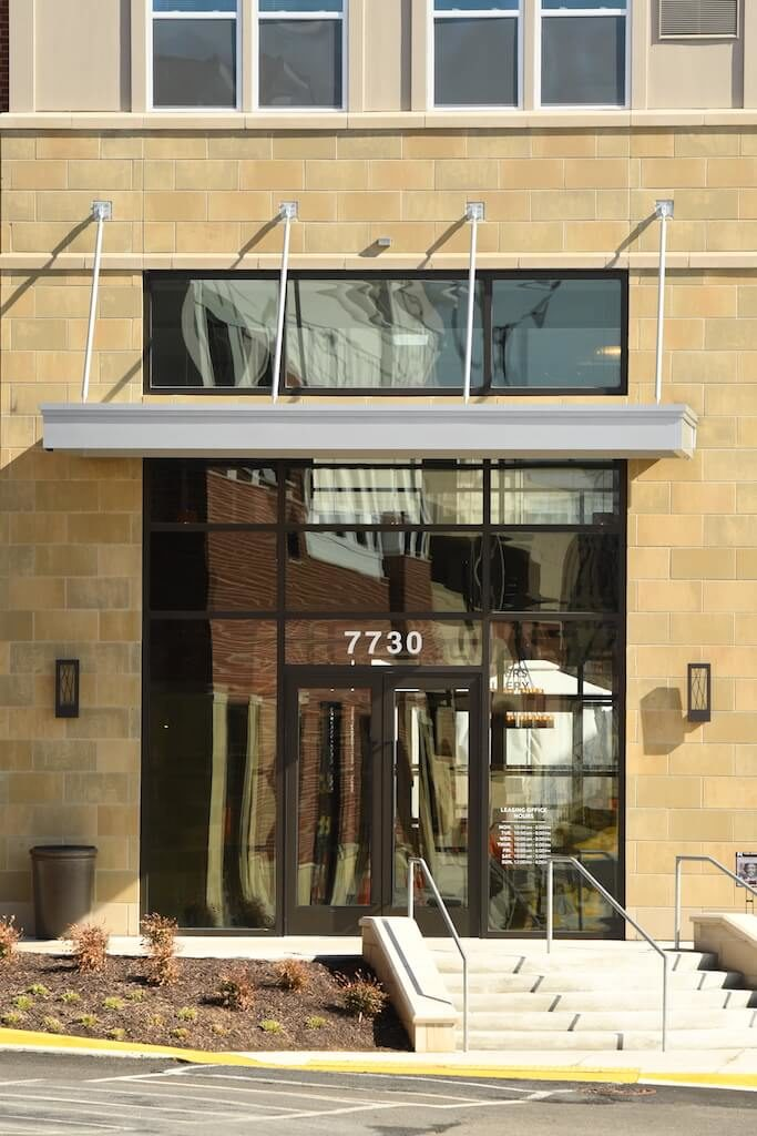 Install a Metal Awning Over the Entrance to Your Maryland Property