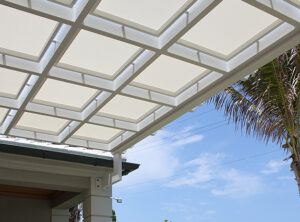 Creating a Serene, Shady Space with a Commercial Shade Trellis in Louisiana